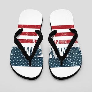 Made in Piney River, Virginia Flip Flops