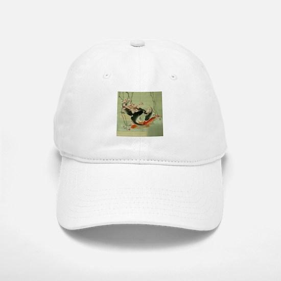 zen japanese koi fish Baseball Baseball Cap