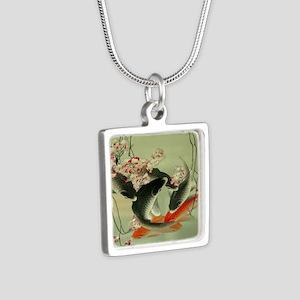zen japanese koi fish Necklaces