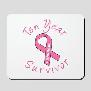 Ten Year Survivor Mousepad