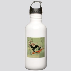 zen japanese koi fish Stainless Water Bottle 1.0L