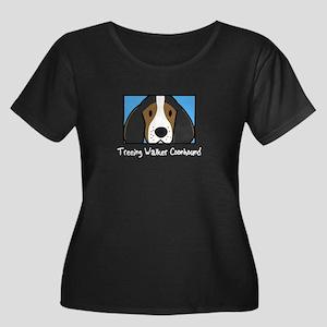 Anime TW Coonhound Women's Plus Size Dark TShirt