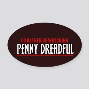 Penny Dreadful Oval Car Magnet