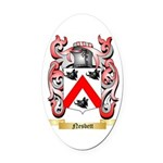 Nesbett Oval Car Magnet