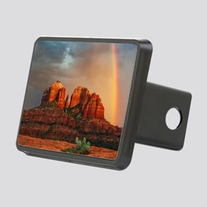 Rainbow In Grand Canyon Rectangular Hitch Cover