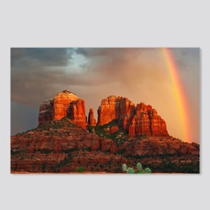 Rainbow In Grand Canyon Postcards (Package of 8)