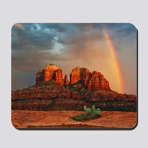 Rainbow In Grand Canyon Mousepad