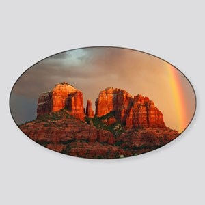 Rainbow In Grand Canyon Sticker