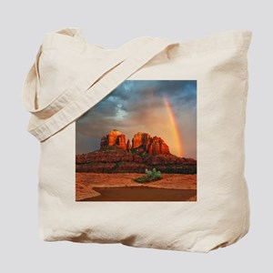 Rainbow In Grand Canyon Tote Bag