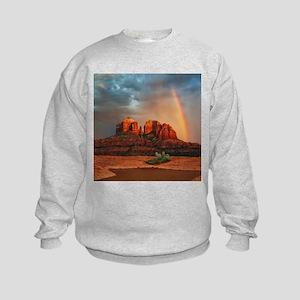 Rainbow In Grand Canyon Sweatshirt