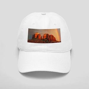Rainbow In Grand Canyon Cap