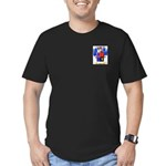 Nerva Men's Fitted T-Shirt (dark)