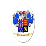 Nerva 20x12 Oval Wall Decal