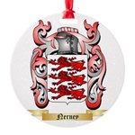 Nerney Round Ornament