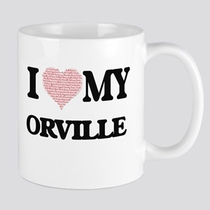 I Love my Orville (Heart Made from Love my wo Mugs