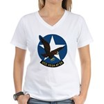 USS Vega (AF 59) Women's V-Neck T-Shirt