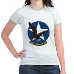 USS Vega (AF 59) Jr. Ringer T-Shirt
