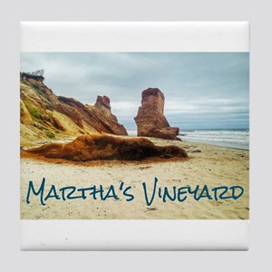 Lucy Vincent Beach Tile Coaster