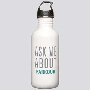 Ask Me About Parkour Stainless Water Bottle 1.0L
