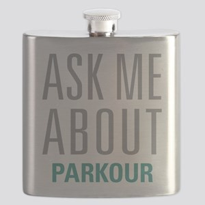 Ask Me About Parkour Flask
