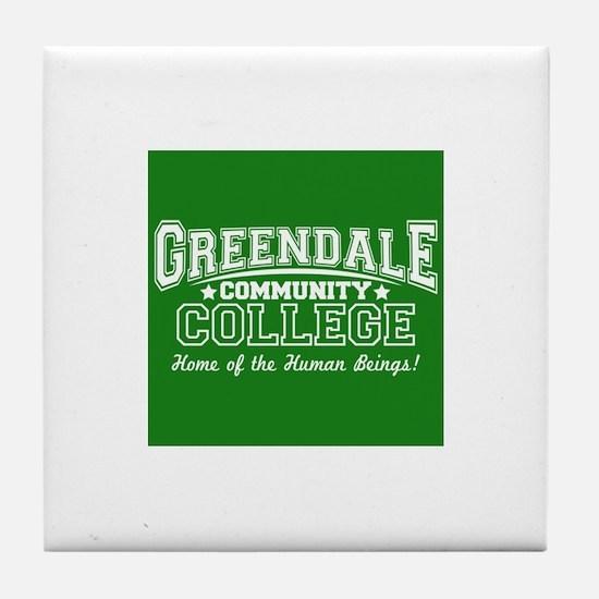 Greendale Community College Tile Coaster
