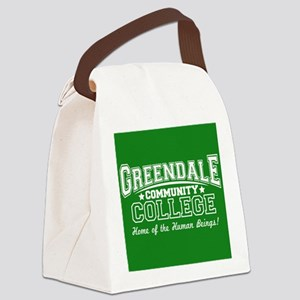 Greendale Community College Canvas Lunch Bag