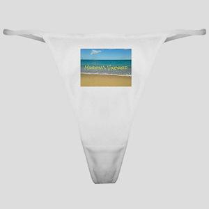 Chappaquiddick Beach Classic Thong