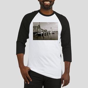 Menemsha Black & White Baseball Jersey