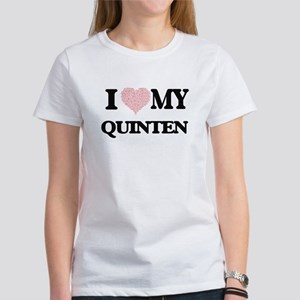 I Love my Quinten (Heart Made from Love my T-Shirt