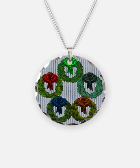 Harvest Moons 5 Wreaths Necklace