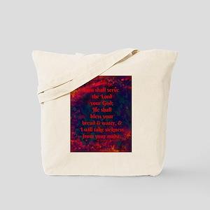 you shall serve Tote Bag