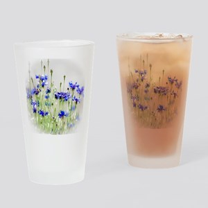 So Many Flowers, So Little Time Drinking Glass
