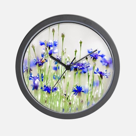 So Many Flowers, So Little Time Wall Clock