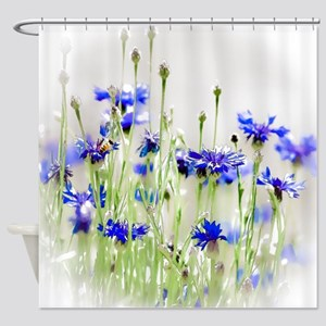 So Many Flowers Little Time Shower Curtain
