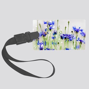 So Many Flowers, So Little Time Large Luggage Tag