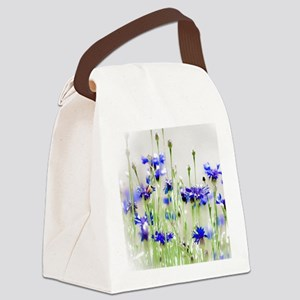 So Many Flowers, So Little Time Canvas Lunch Bag