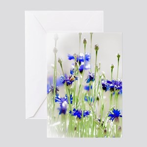 So Many Flowers, So Little Time Greeting Cards
