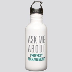 Property Management Stainless Water Bottle 1.0L