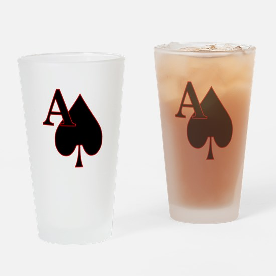 aceOfSpades.png Drinking Glass