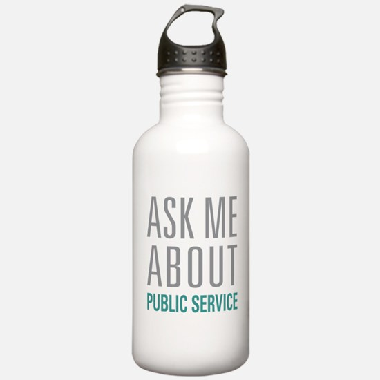 Public Service Water Bottle