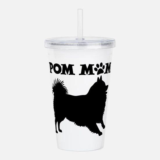 POM MOM Acrylic Double-wall Tumbler