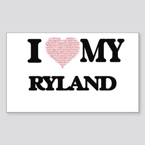 I Love my Ryland (Heart Made from Love my Sticker