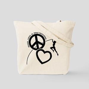 POLE VAULTING (both sides) Tote Bag