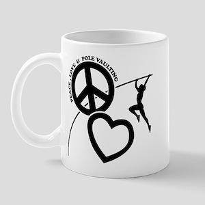 P-L-POLE VAULTING Mug