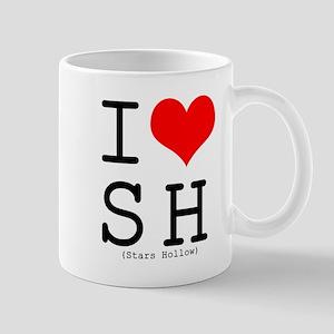 I <3 Stars Hollow Mug