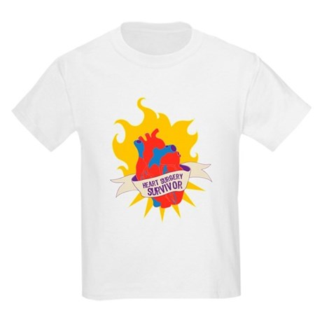 Heart Surgery Survivor Kids Light T-Shirt