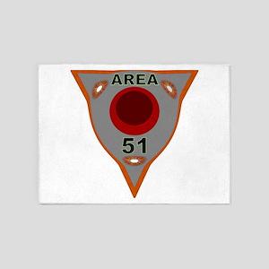 Area 51 Reverse Engineering 5'x7'area Rug