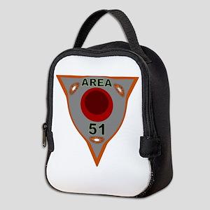 Area 51 Reverse Engineering Neoprene Lunch Bag