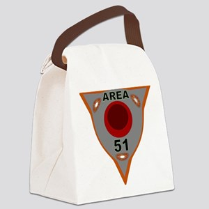 AREA 51 REVERSE ENGINEERING Canvas Lunch Bag