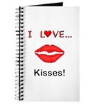 I Love Kisses Journal